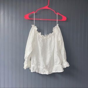 Women's H&M off the shoulder top size 14